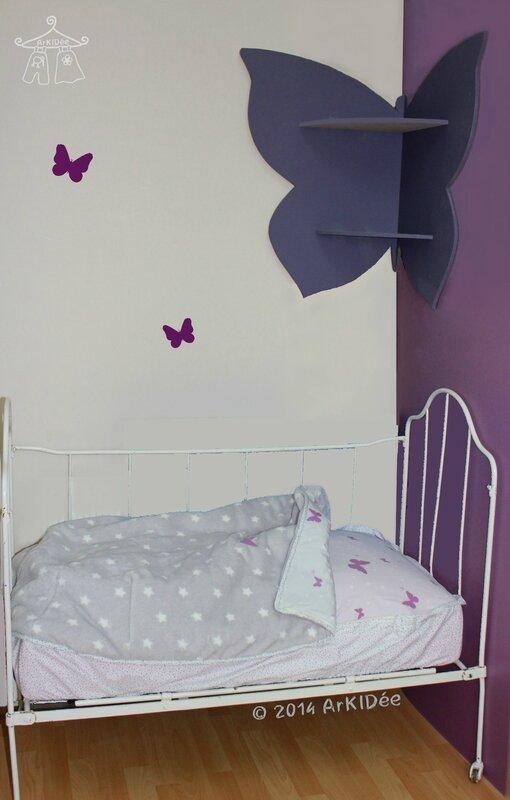 Etagère Papillon