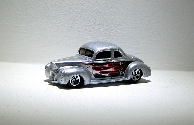 Ford coupé de 1940 (Hotwheels)