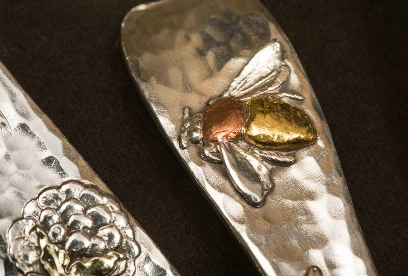 fine-art-exhibition-Tiffany-Moore-Adler_Selections-from-Lap-Over-Edge-Silver-Flatware-detail