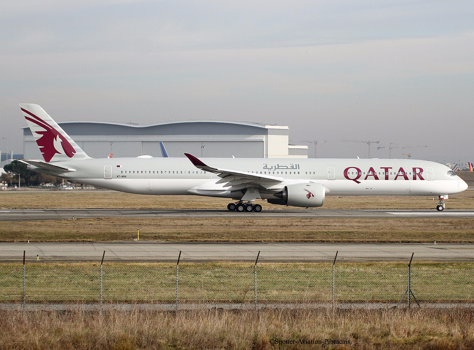 Qatar Airways. Airbus A350-1041
