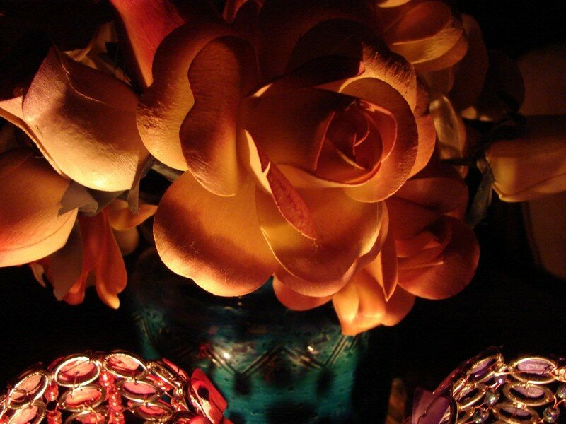 Bouquet aux boujies