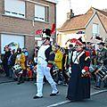 Sortie d'une belle bande de carnaval a téteghem le 16 février 2014