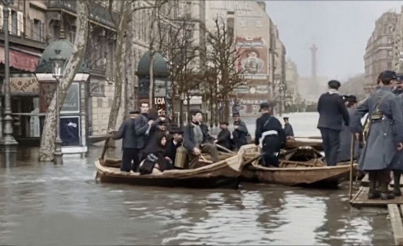 Innondations de Paris 1910