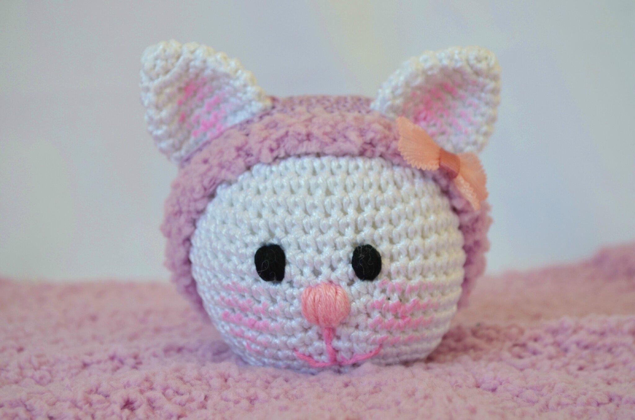 Chatminette-tuto-doudou-crochet-tricot-laine-fil-agurigami-Lachouette bricole