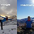 Montagne et yoga, un souffle de liberté