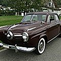 Studebaker champion regal deluxe 4door sedan-1950