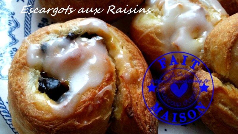 Escargots aux raisins 7