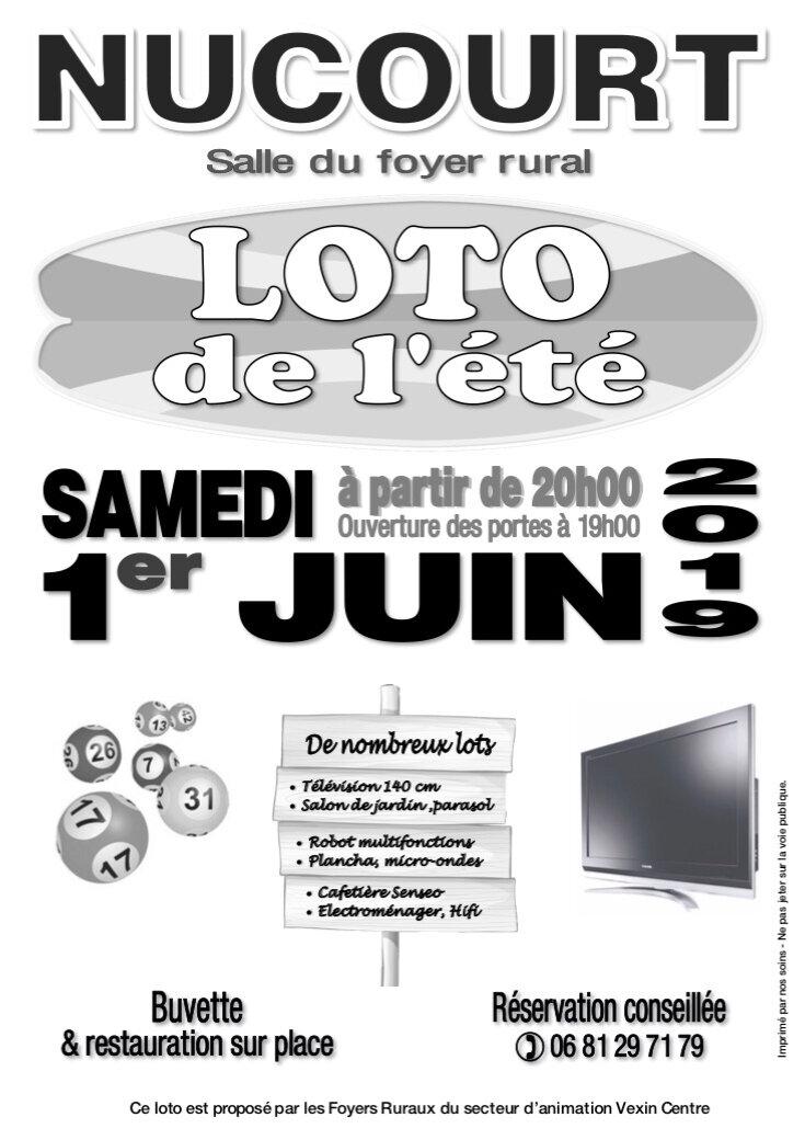 Loto à Nucourt!
