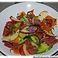 Salade minceur vitaminee