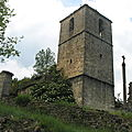 Janovas, village détruit (Espagne)