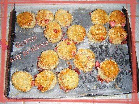scones pralines