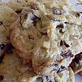 Cookies au chocolat noir et lait