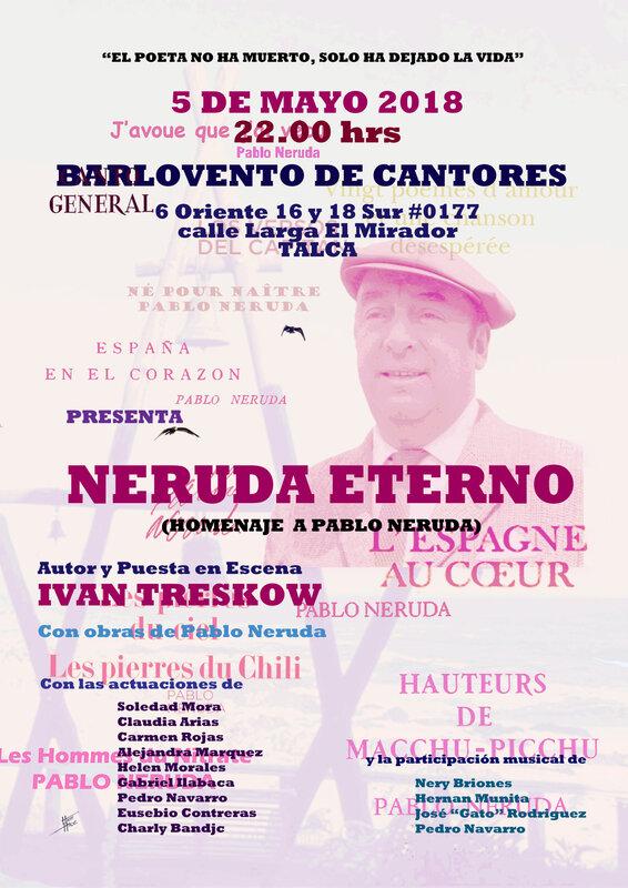 AficheEterno2018ChileActoresMusicos
