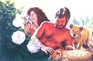 Adam et Ève- au Paradis