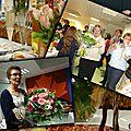 Remerciements, fleurs, cadeaux, reception !