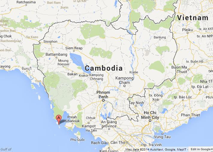 Koh-Rong-on-Map-of-Cambodia