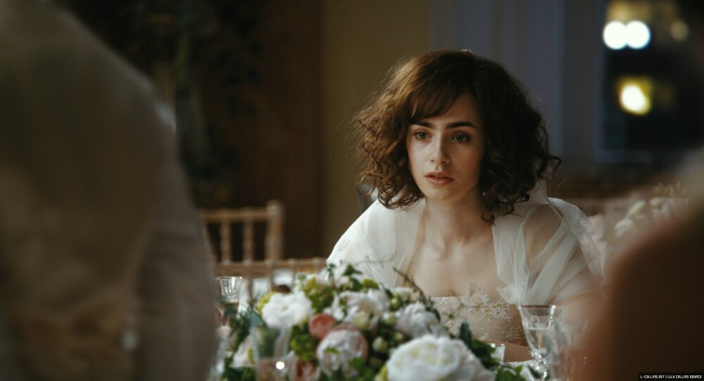 Lily Collins Rosie movie