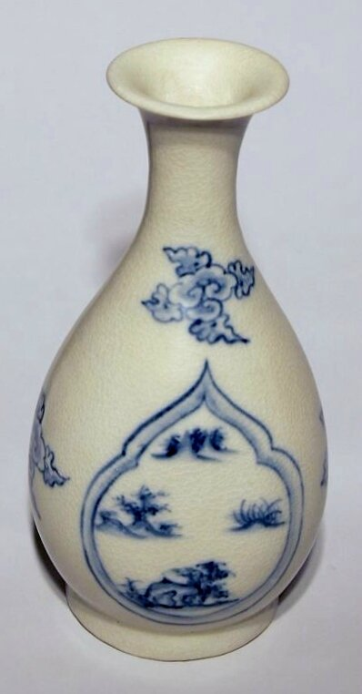 Bottle, 15th century, Vietnam