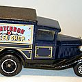 003 MB38 Van Matchbox Speed Shop