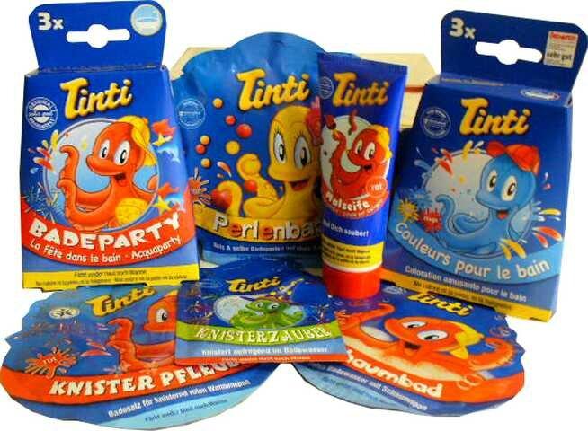 Coffret de bain Tinti 3