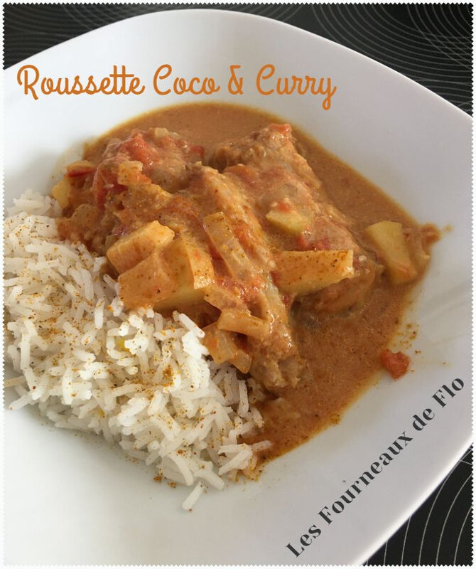 Roussette coco & curry (montage)
