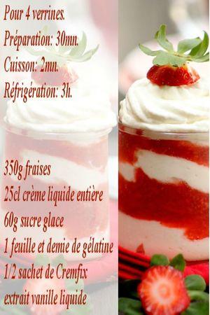 recette fraises viennoises