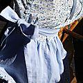 Rachel Farbenmix 5-6ans piqué bleu & fleurs bleues 12