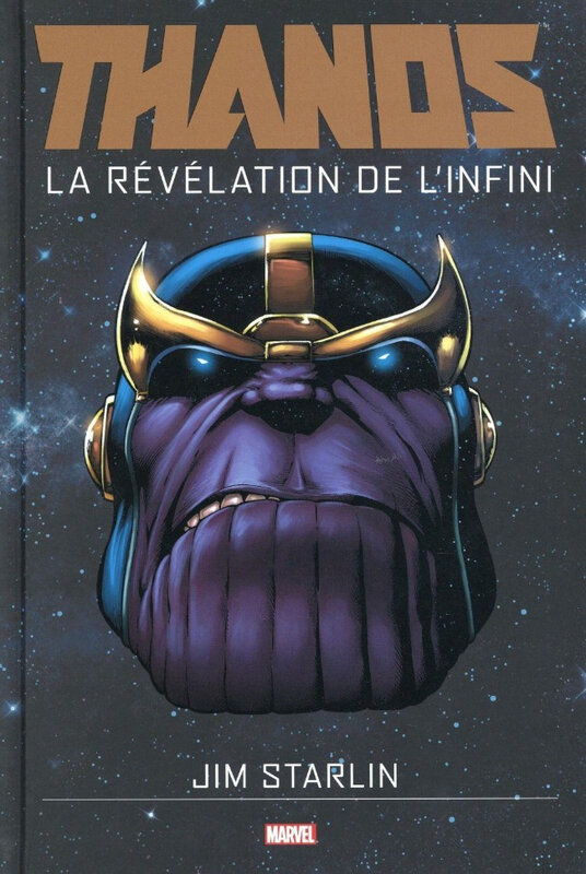 graphic novel thanos la révélation de l'infini