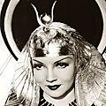 Claudette colbert, cléopâtre des années 30