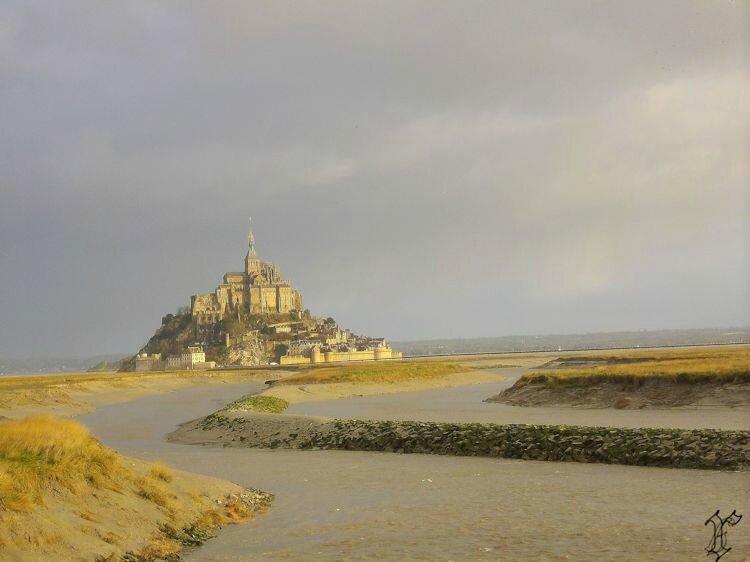 Mont St Michel depuis barrage sur COUESNON_3