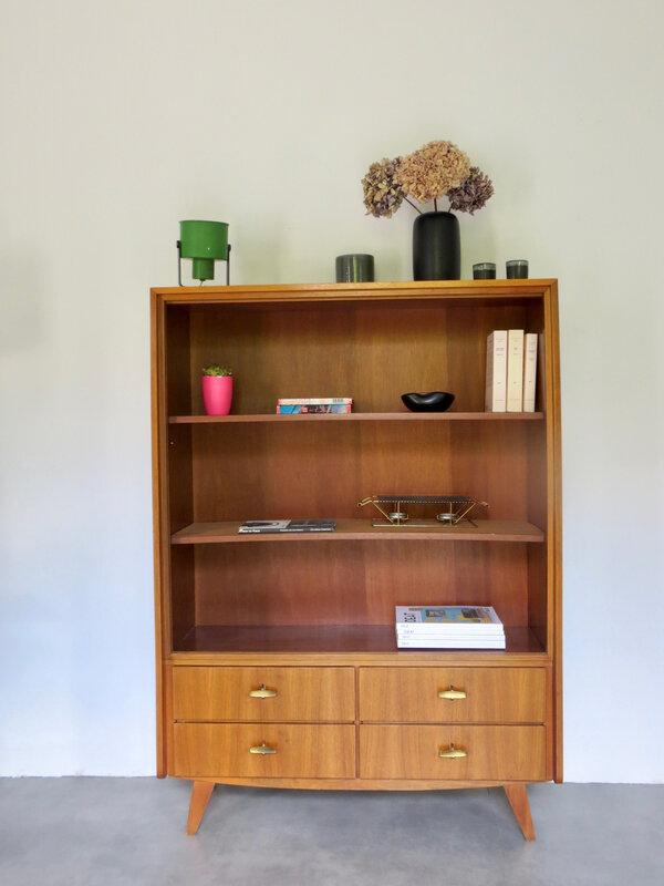 Bibliothèque meuble vintage°