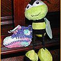 Un porte-clés sneaker au crochet