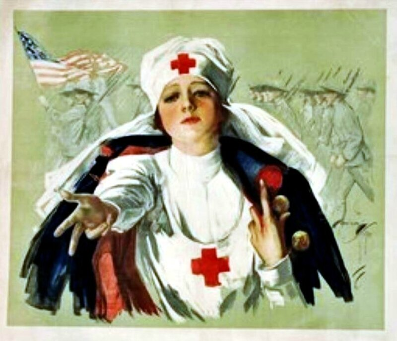 Harrison Fischer Red cross1