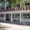 Ecole sur une île habitée