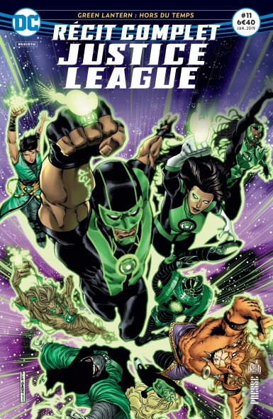 récit complet justice league 11 green lanterns