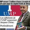 Jacques chirac aime l'ump, profondément...