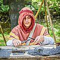 Fabrication cotte de mailles (médiévales montreuil bellay)