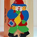 pot crayon clown