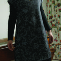 robe D lainage gris