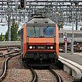 BB 26155 en tête de l'Intercités Eco PAZ-Bdx.