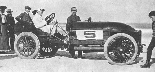 1905 ormond beach - arthur mcdonald (napier 90hp 6-cyl)
