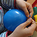 Défi scientifique : percer un ballon sans le faire éclater 2/2