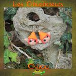 Chuchoteurs orange rouge