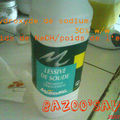Méthode de saponification à froid avec le savon au quinoa/miel/lavandin
