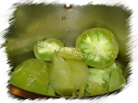Confiture de tomates vertes 1