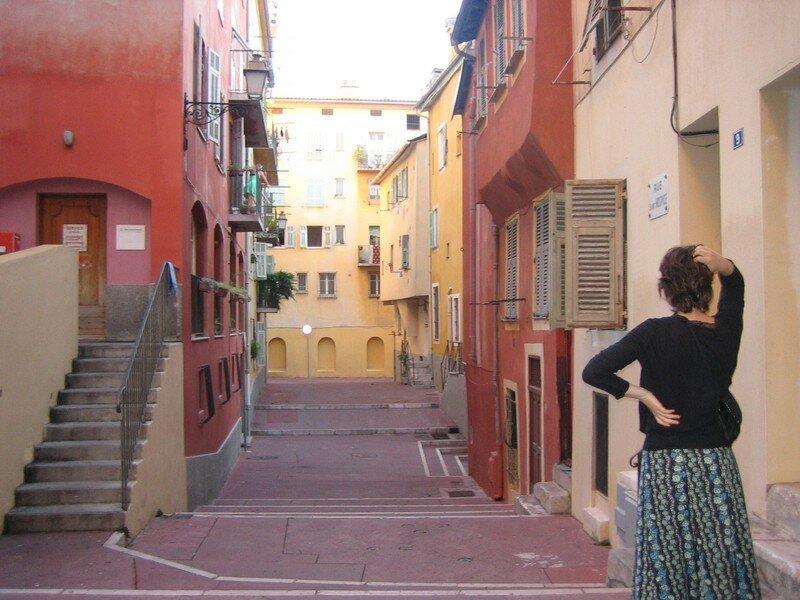 Vieux Nice avec une lorraine au premier plan ;P