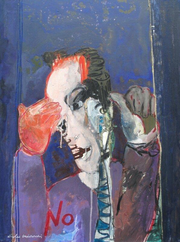 Le Dandy de cabaret (80x60cm)