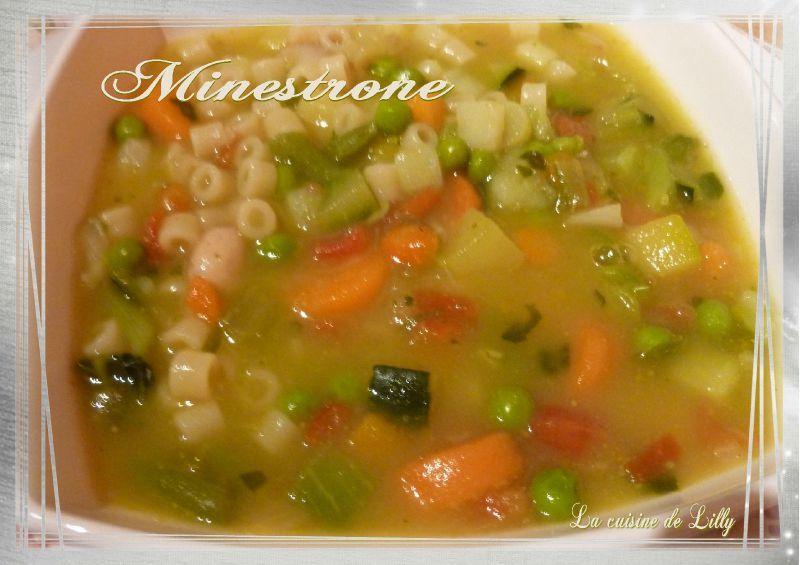 Minestrone La Cuisine De Lilly
