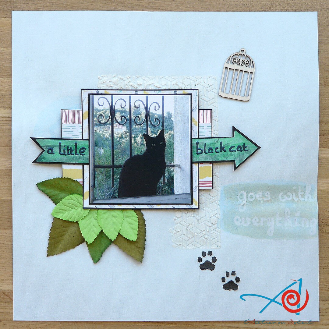 Page A little black cat goes with everything L'Atelier au soleil
