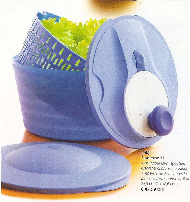 Essoreuse 3 litres produits tupperware pour cuisiner facilement et rapidement - Cuisiner avec tupperware ...
